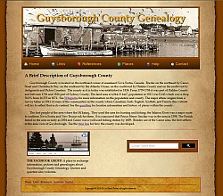 Guysborough County Genealogy